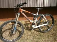 This is a terrific all mountain bicycle that can handle
