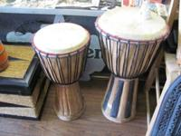 Kongo Drums   Big one - $49 - 24'' Tall - 13''