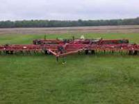 Kongskilde 3500 33 ft fieldcultivator, new american