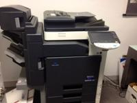 Konica Minolta C253 Full-Color Printer / Copier /