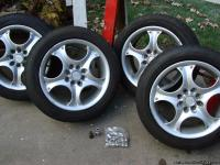 PRICE REDUCED.  Selling four Konig aluminum 16""