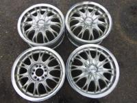 "USED Konig Theory 15"" Alloy Dual Bolt Pattern Rims"