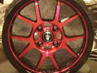 KONIG WHEELS RETRACK 15 X 7.5 pearl white big lip