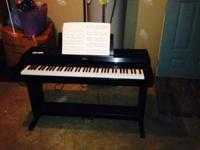 Up for grabs is a Korg C2500 digital piano. It is a