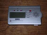 1) KORG GUITAR/BASS TUNER GA-30; 2) MATRIX MPU-1