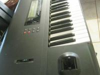 Korg M1 con sonidos editados para musica de Tierra