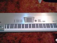 I'm selling my Korg Trinity ProX Music Workstation