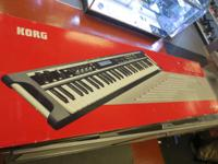 For sale is a Korg X50 Synthesizer 61 secrets barely