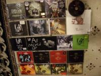 For Sale Is a Lot of 21 - KORN Cds, Singles, Promos,