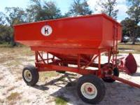 Kory Model 185 Corn/Grain Wagon. Excellent condition