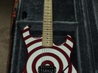 2005 84 bullseye reissue red and white with black