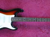 Kramer KS400SB Strat Style.  Guitar Vacation home.  228