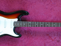 Kramer KS400SB Strat Style.  Guitar Vacation home.  228