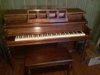 Beautiful reconditioned kraukaur piano with