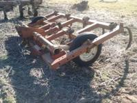 Krause 790 Chisel Plow, 10 ft, 3 bar, 10 chisel points,