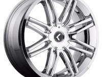 I am selling a set of the Kraze Cray Wheels in Chrome