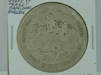This is a 1970 Mardi Gras doubloon from the Krew of