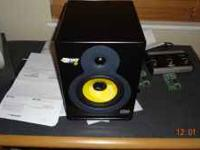 Up for sale krk 6 powered studio monitor only asking