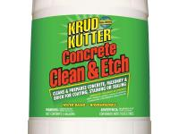 Krud Kutter Concrete Clean and Etch cleans and prepares