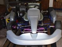 What i have is a kart mini chassis made in Brazil with