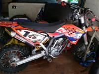 Excellent condition KTM 65 SXS Powerband suspension,