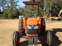 2010,2WD,50HP KUBATO TRACTOR WITH A CANOPY AND FRONT