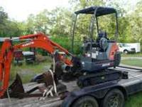 Kubota Excavator 2006 Very Low Hours 303 Excellent