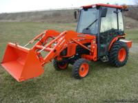 Kubota B3030 2008 Tractor with quick release LA-403