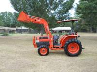 Kubota L3130-4WD/Loader 31 Horse Power, 2006, Power