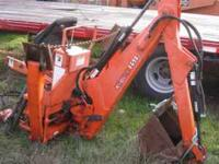 complete used 4690 backhoe with pump 3500  Location: