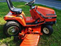 Production: Manufacturer: Kubota Variants: G1900S: