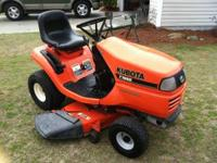 "14 hp. 44"" cut. Heavy gauge deck. Great condition,"