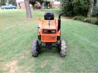 We have a terrific Kubota B7200 diesel tractor for