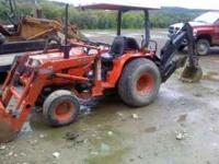 early 90s kubota b2150 new backhoe attachment only 655