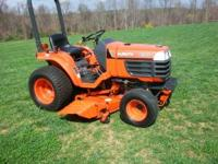 Kubota B7300 4 Wheel Drive compact tractor excellent