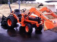 2000 KUBOTA TRACTOR B7500...ONLY 299