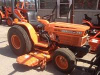 Kubota B8200 4WD in pretty good condition with only 279