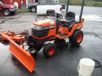 I am selling my Kubota BX1500. This machine has a 48""