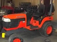 BX2230 4X4 Tractor, 22HP, 230 Hours, Optional Mowing