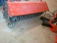 I have a front mount broom from a BX2230 tractor. Has