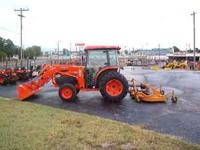 Kubota Cab tractor with loader , only 173 hours. Model