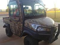 Diesel Kubota 1100 RTV Camo! Dump Bed! Goes Anywhere!