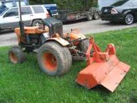 I have a Kubota b7100 18hp 3 cyl kubota 4x4 tractor,