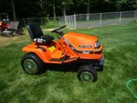 G1800 Kubota Diesel Tactor, 54' mower deck, Power Lift