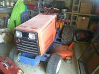 UP FOR SALE IS THE 3 CYLINDER DIESEL HYDROSTATIC LAWN