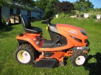 FOR SALE IS A LIKE NEW SHOW ROOM CONDITION KUBOTA MODEL