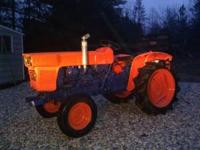 Kubota Tractor w/ low hours. Frest Paint!! Comes with