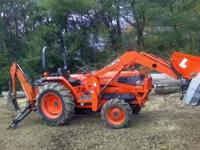 I have a very nice well takin care of Kubota tractor,