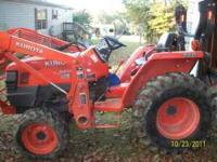 2006 KUBOTA L3400 TRACTOR 4WD....205 HOURS...MUST