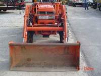 1997 Kubota L3600 4x4 with kubota front end loader.